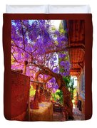 Wisteria Canopy In Bisbee Arizona Duvet Cover