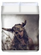 Witch Doctor 1 Duvet Cover