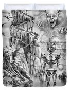Witch Hunter Duvet Cover