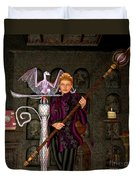 Witch Ritual Duvet Cover