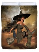 Witch Way  Duvet Cover