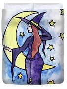 Witchy Moon Duvet Cover