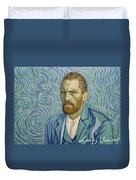With A Handshake - Your Loving Vincent Duvet Cover