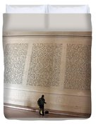 With Malice Toward None With Charity For All -- President Lincoln's Second Inaugural Address Duvet Cover