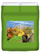 Withered Grape Vine Duvet Cover