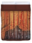 Within A Wooden Fence Duvet Cover