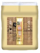 Within Capitol Walls  Duvet Cover
