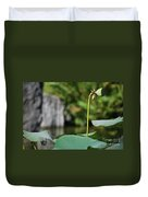 Without Protection Number Four Duvet Cover
