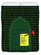 Wittenberg 1517 Duvet Cover