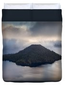 Wizard Among The Mists Duvet Cover