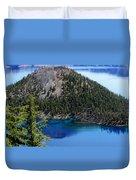 Wizard Island Duvet Cover