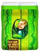 Wizard Of Oz Gate Keeper  Duvet Cover