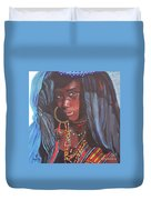 Virtuous Wodaabe Girl          From The Attitude Girls  Duvet Cover