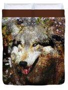 Wolf Art Version 8 Duvet Cover
