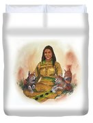 Wolf Clan Mother Duvet Cover