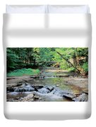 Wolf Creek Duvet Cover by Kathleen Struckle
