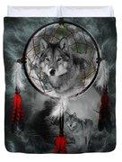 Wolf Dreamcatcher Duvet Cover