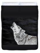 Wolf Howl Duvet Cover