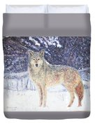 Wolf Of The North Duvet Cover