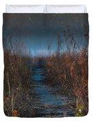 Wolf Road Prairie Trail Duvet Cover