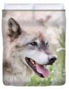 Wolf Smile Duvet Cover