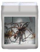 Wolf Spider Sunlight Duvet Cover