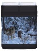 Wolf Wonderland Duvet Cover
