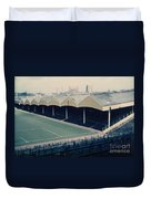 Wolverhampton - Molineux - Molineux Street Stand 2 - Leitch - 1970s Duvet Cover