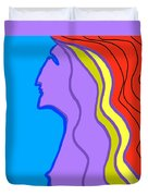 Woman 6 Duvet Cover