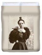 Woman, C1885 Duvet Cover