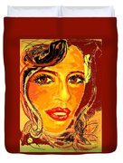 Woman Duvet Cover
