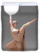 Woman Lamp Number Three Duvet Cover