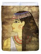 Woman Of Ancient Egypt Duvet Cover