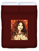 Woman Of Desire Duvet Cover