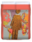 Woman Of The World Duvet Cover