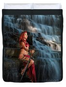 Woman Warrior Duvet Cover