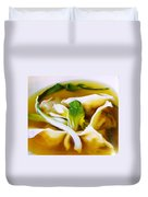 Won Ton Duvet Cover