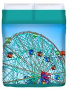 Wonder Wheel Amusement Park 1 Duvet Cover