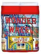 Wonder Wheel Amusement Park 10 Duvet Cover