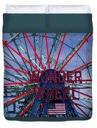 Wonder Wheel Duvet Cover