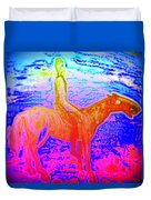 Wonder Where We Are And How We Got There  Duvet Cover