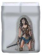 Wonder Woman Duvet Cover