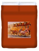 Wonderful Carriage Ride Duvet Cover