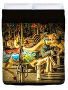 Wonderful Horse Ride Duvet Cover