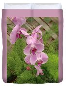 Wonderful Orchid Duvet Cover