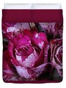 Wonderful Pink Red Rose Duvet Cover