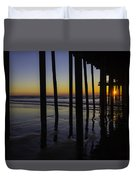 Wonderful Pismo Sunset Duvet Cover