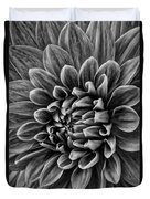 Wonderful Tones Dramantic Dahlia Duvet Cover