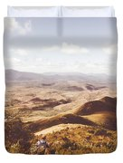 Wonderful West Coast Tasmania Views Duvet Cover