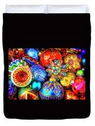Wonderfully Beautiful Christmas Ornaments Duvet Cover